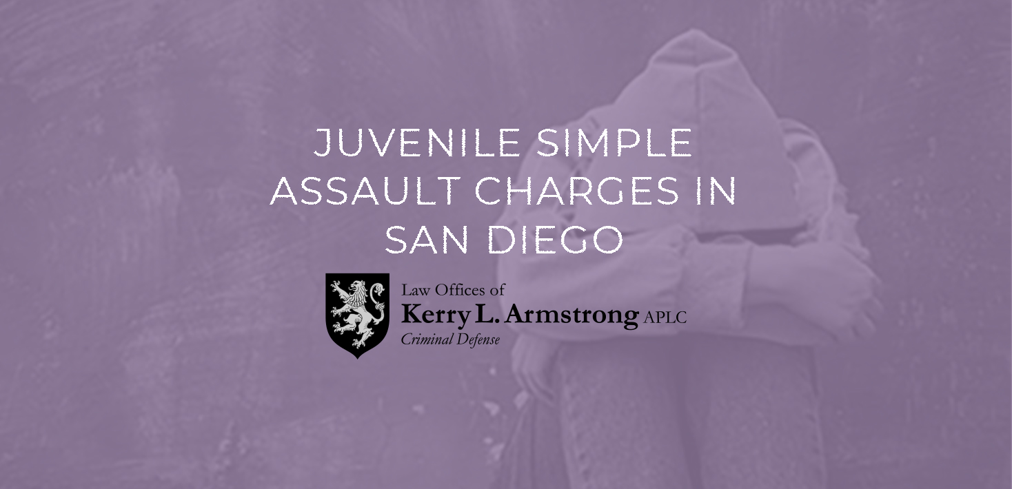 Juvenile Simple Assault Charges in San Diego